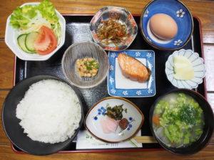 湯治の宿 田島本館 ご朝食例